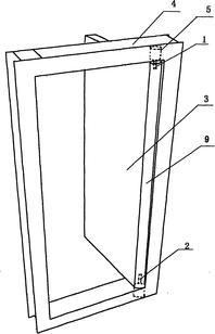 一种新型的防止夹手的门